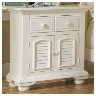 American Woodcrafters Cottage Traditions Nightstand Image