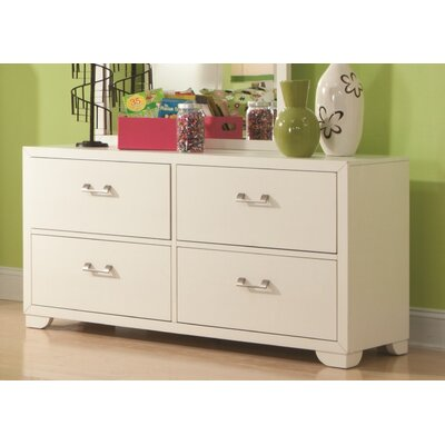 American Woodcrafters Smart Solutions 4 Drawer Double Dresser