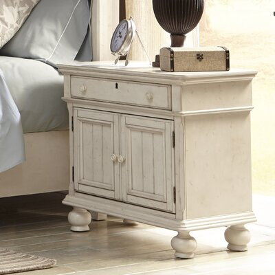 American Woodcrafters Newport 1 Drawer Nightstand