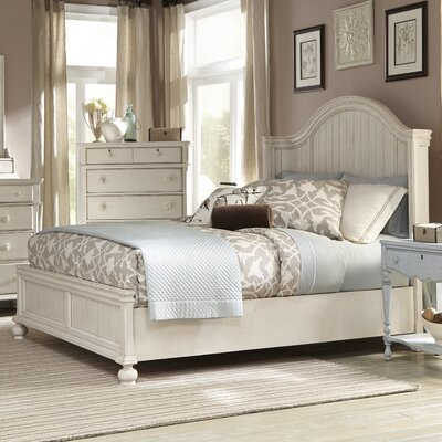 American Woodcrafters Panel Bed