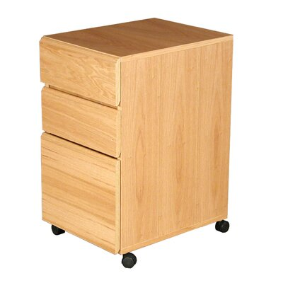 Rush Furniture Heirloom 3-Drawer Mobile F..