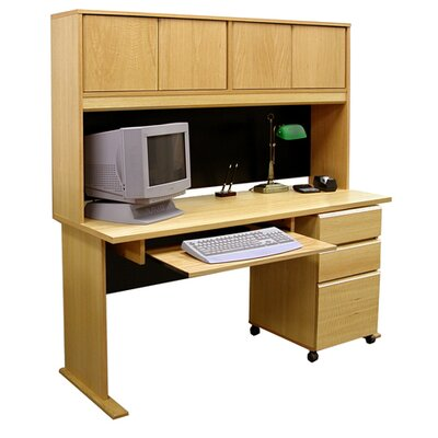 Rush Furniture Office Modulars Standard Computer Desk