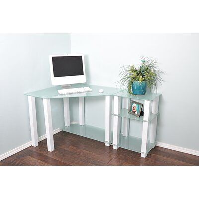 Wade Logan Hector Corner Computer Desk with Right Extension Table