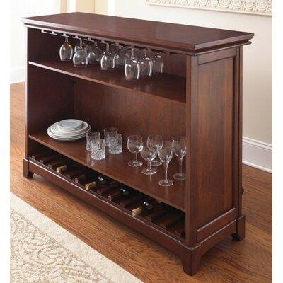 Steve Silver Furniture Martinez Bar With Wine Storage Reviews Wayfair