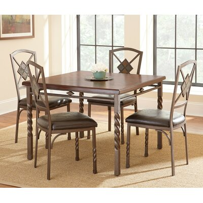 Steve Silver Furniture Annabella 5 Piece Dining Set