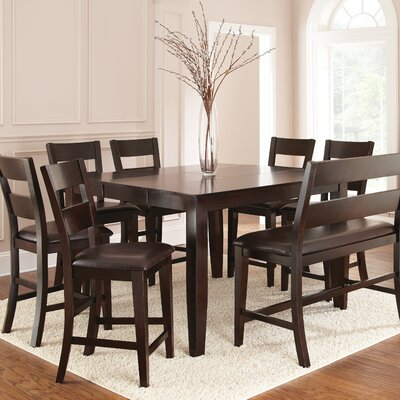 Three Posts Manheim 8 Piece Dining Set