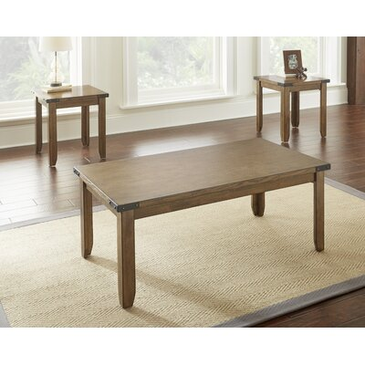 August Grove Worland Occasional 3 Piece Coffee Table Set