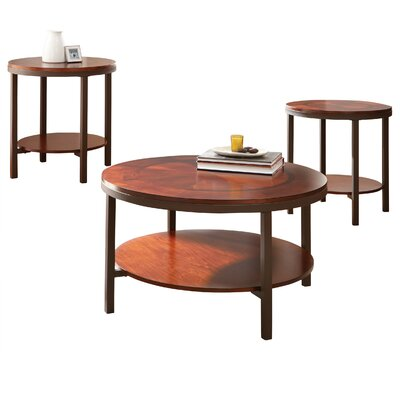 Steve Silver Furniture Trisha 3 Piece Cof..