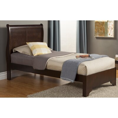Alcott Hill Hopkinsville Twin Sleigh Bed
