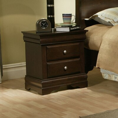 Darby Home Co Emden 2 Drawer Nightstand