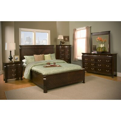 Alpine Furniture Windsor Panel Customizable Bedroom Set