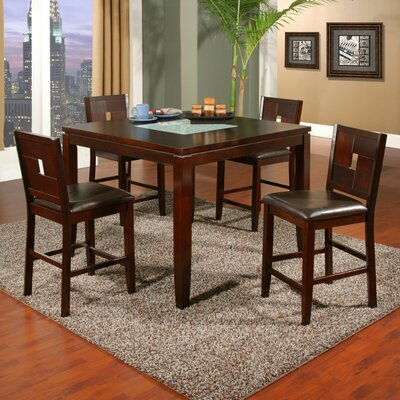 Alpine Furniture Lakeport 5 Piece Dining Set