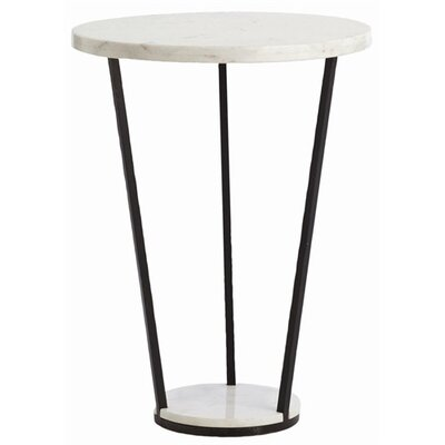 ARTERIORS Home Petra Marble / Iron Side Table
