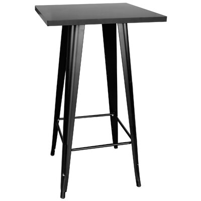 Buffalo Tools Loft Black Pub Table