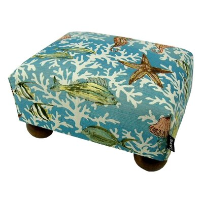 lava Under the Sea Ottoman