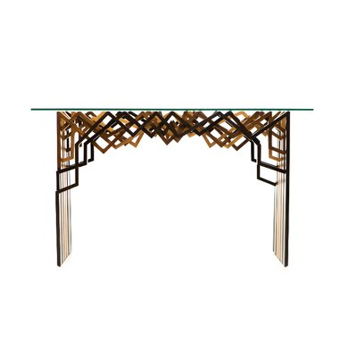 Oggetti Zagi Console Table and Mirror Set