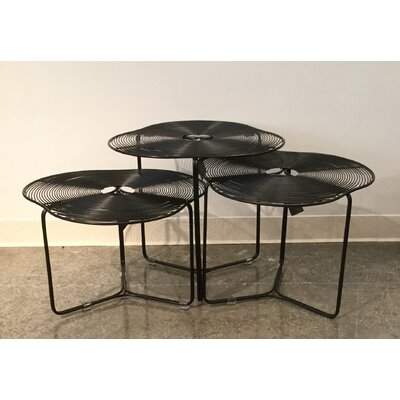 Oggetti Schema a Cote 3 Piece Coffee Table Set