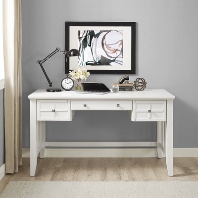 Bay Isle Home Haddam Computer Desk with H..