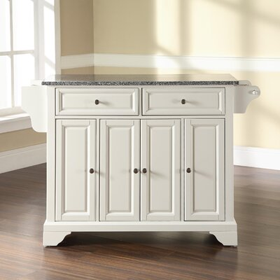 Crosley Lafayette Kitchen Island With Granite Top Reviews Wayfair