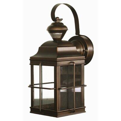 Heath zenith motion activated 1 light outdoor wall lantern for Zenith garden rooms