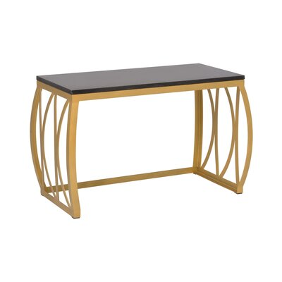 Emissary Home and Garden Metal Kitchen Bench