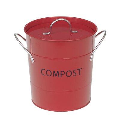 victor komposteimer mit deckel in rot bewertungen. Black Bedroom Furniture Sets. Home Design Ideas
