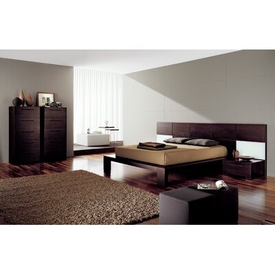 YumanMod Soho Platform Customizable Bedroom Set