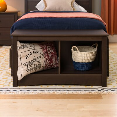 Latitude Run Penelope Cubbie Storage Bench
