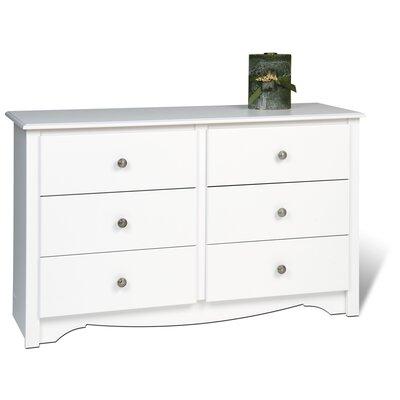 Andover Mills Sybil Condo 6 Drawer Dresser