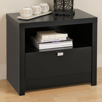 Prepac Designer Series 9 1 Drawer Nightst..