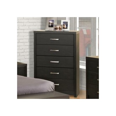 Latitude Run Reiby 5 Drawer Chest