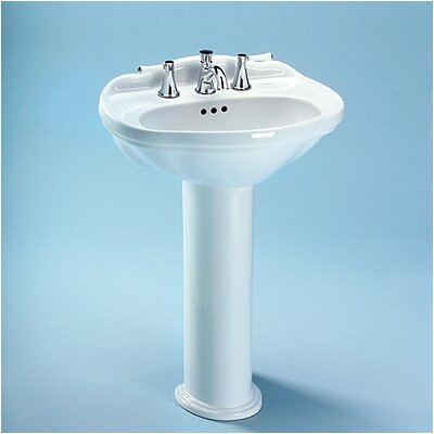 Toto Whitney Bathroom Sink Pedestal Wayfair