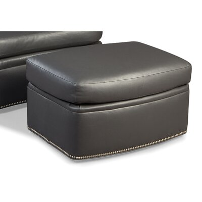Fairfield Chair Leather Ottoman