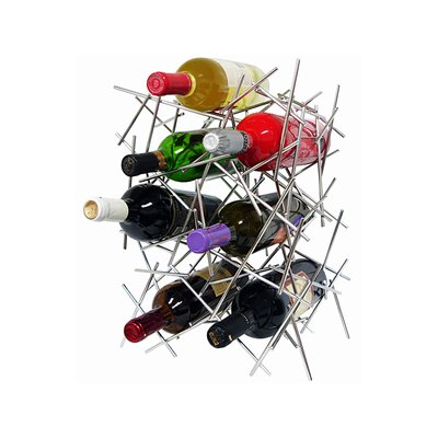Epicureanist 7 Bottle Tabletop Wine Rack