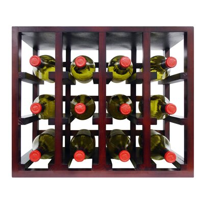 Epicureanist 12 Bottle Tabletop Wine Rack