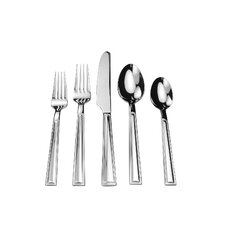 Modern square flatware sets allmodern - Splendide flatware patterns ...