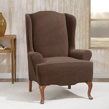 Wing Chair Slipcovers You Ll Love Wayfair