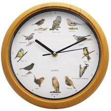 25cm Bird Sound Wall Clock