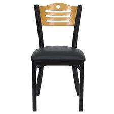 Hercules Series Slat Back Side Chair (Set of 2) byFlash Furniture