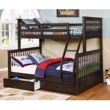 Lovely Walter Twin Over Full Bunk Bed image