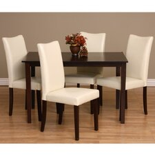 Tiffany Shino Dine Parsons Chair (Set of 4) by Warehouse of Tiffany