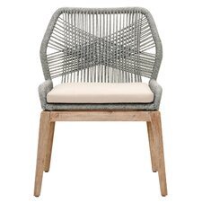 New Wicker Parsons Chair (Set of 2) byOrient Express Furniture