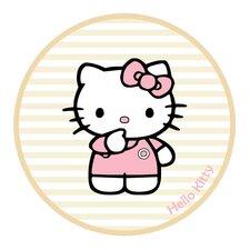 Motivteppich Hello Kitty in Beige