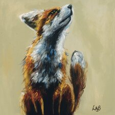 What's Up? by Louise Brown Art Print on Canvas