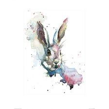 March Hare by Sarah Stokes Art Print