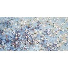 Oriental Blossom by Nicola Acaster Canvas Wall Art