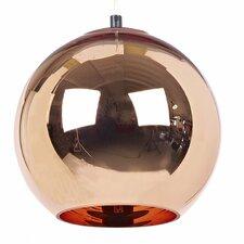 Copper 1 Light Globe Pendant