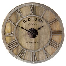 Oversized 61cm Old Town Wall Clock