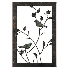 Bonita Birds Wall Accent Framed Graphic Art