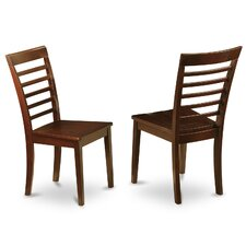 Milan Side Chair (Set of 2) byEast West Furniture